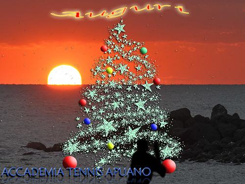 Auguri Di Natale Tennis.Auguri Di Buon Natale E Felice Anno Nuovo Accademia Tennis Apuano